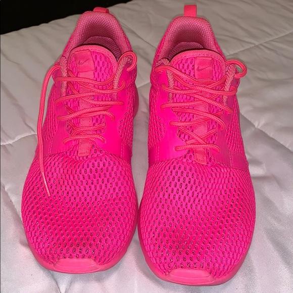 Nike Shoes   Neon Pink Nikes   Poshmark